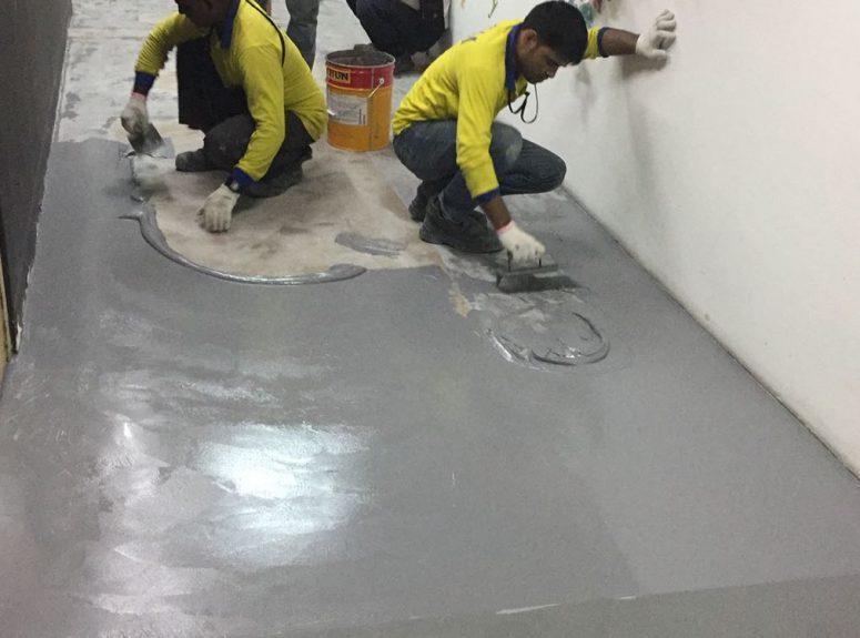 250916 epoxy floor works - good pictures (2)