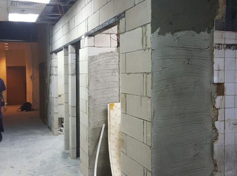 300816 Electrical works and wet works in Marriott kitchen (3)